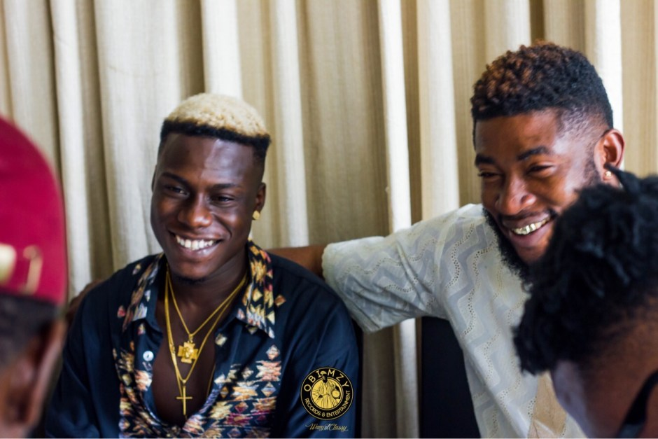 JUNIOR BOY signs a multi million naira deal with OBIMZY RECORDS