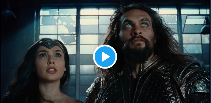 Watch New Justice League Movie Trailer