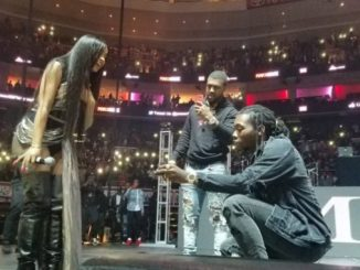 Watch Offset Proposes To Cardi B At Philly's Powerhouse