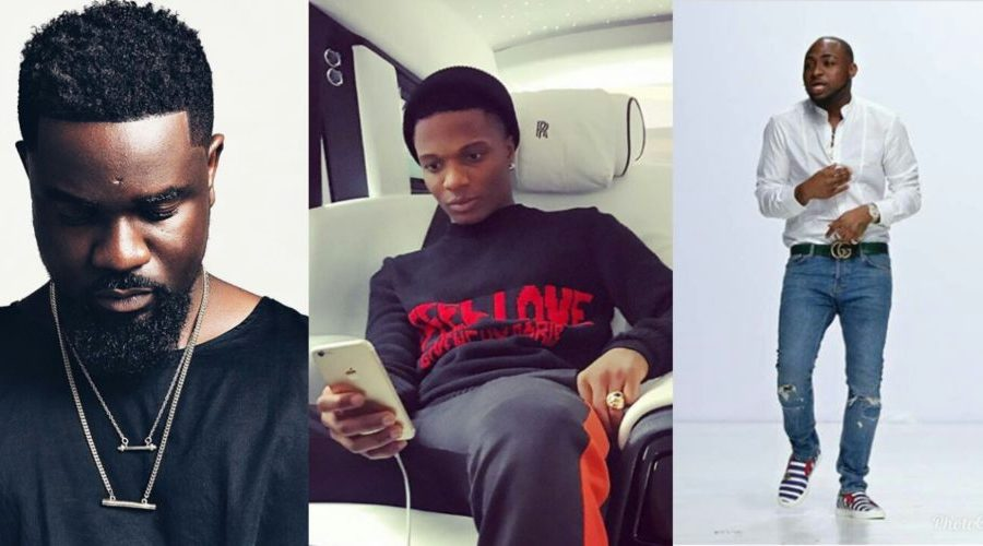 Sarkodie reportedly attacked in violent fight between Davido & Wizkid's crew in Dubai (VIDEO)