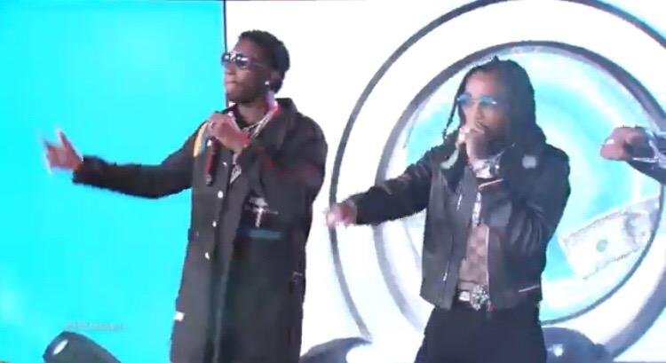 Gucci Mane & Migos Perform