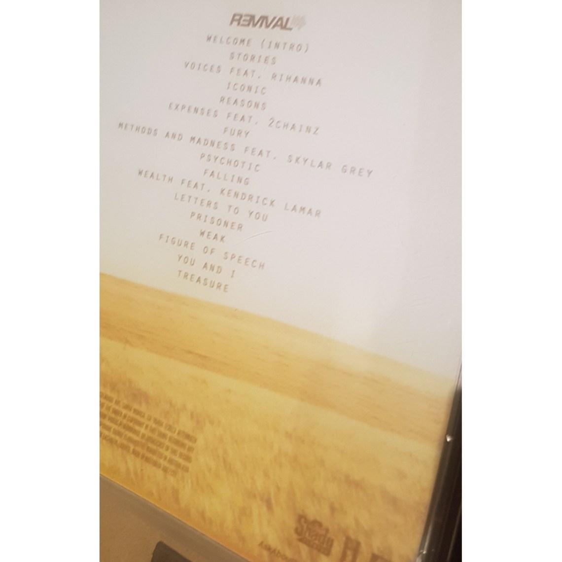 Download Album: Eminem - Revival