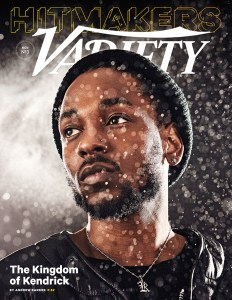 Kendrick Lamar Covers Variety's Inaugural Hitmakers Issue