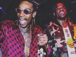 Travi$ Scott's previews unreleased track with Wiz Khalifa