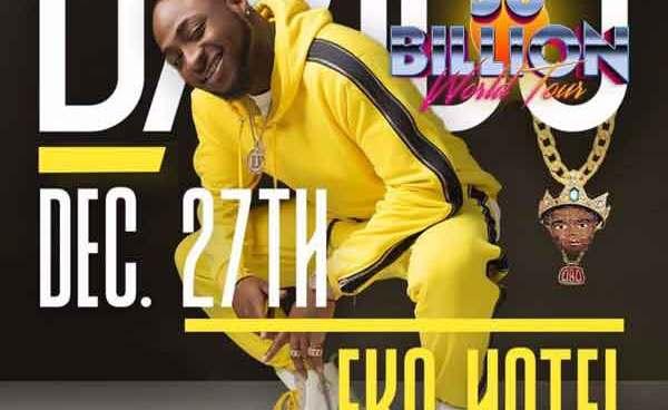 Nigerian Music Star Davido Set To Crown Successful Year With 30 Billion Concert In Lagos