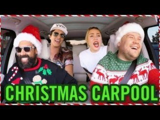 "Santa ""Claus Is Comin' To Town"" Carpool Karaoke (Video)"