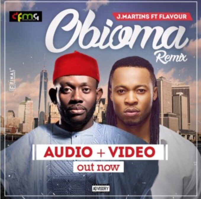 J.Martins – Obioma (Remix) ft. Flavour (New Video)
