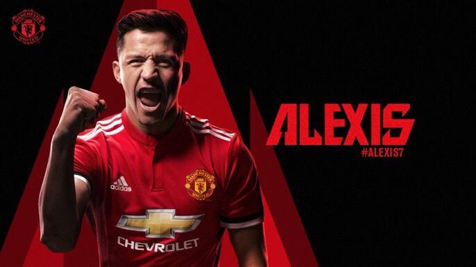 Manchester United Sign Alexis Sanchez