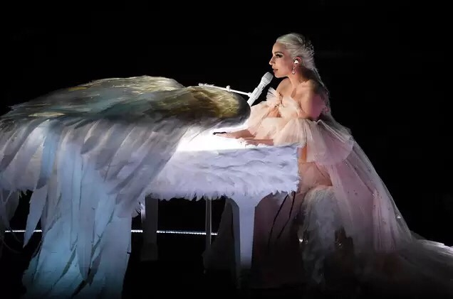 Lady Gaga Performs 'Joanne' & 'Million Reasons' at 2018 Grammy Awards (Video)