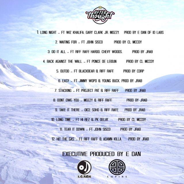 DJ Afterthought x Riff Raff - Cool Blue Jewels album download