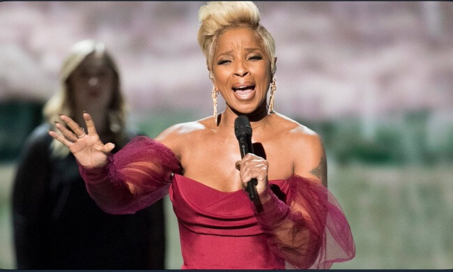 Watch Mary J. Blige's 'Mighty River' Performance at Oscars