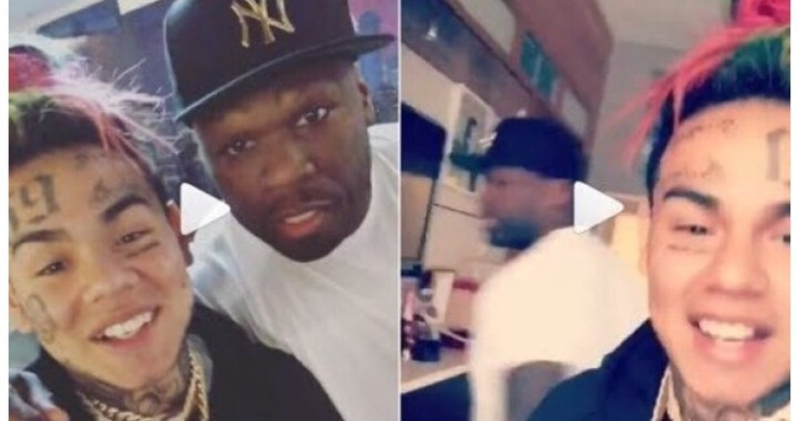 50 CENT TAGS 6IX9INE THE KING OF NEW YORK; OTHER RAPPERS LEAVE HIM ALONE