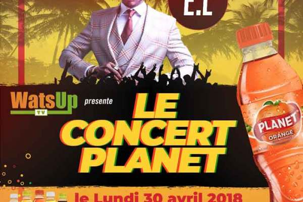 "E.L Headlining at WatsUp TV ""Le Concert Planet """