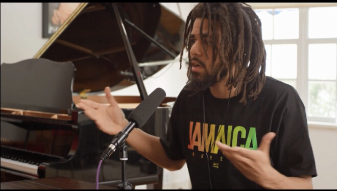 Angie Martinez Interviews J. Cole (Video)