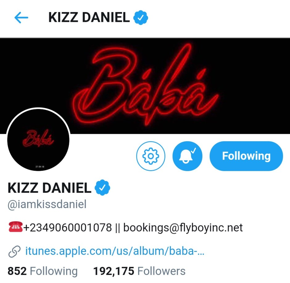 Kiss Daniel changes name to 'Kizz' Daniel