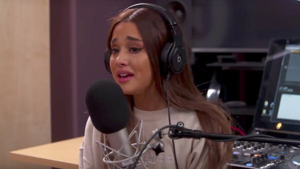 Ariana Grande Cries While Discussing Manchester Bombing