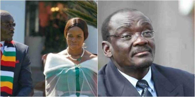 My wife torments me and I'm scared of my life – Zimbabwean VP