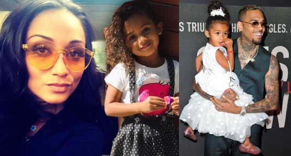 Chris Brown's daughter reportedly acting out amidst child support dispute