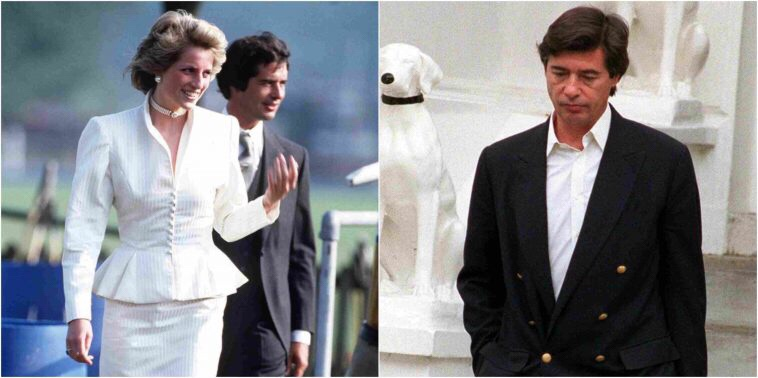 Princess Diana's former lover Oliver Hoare dies aged 73 in France