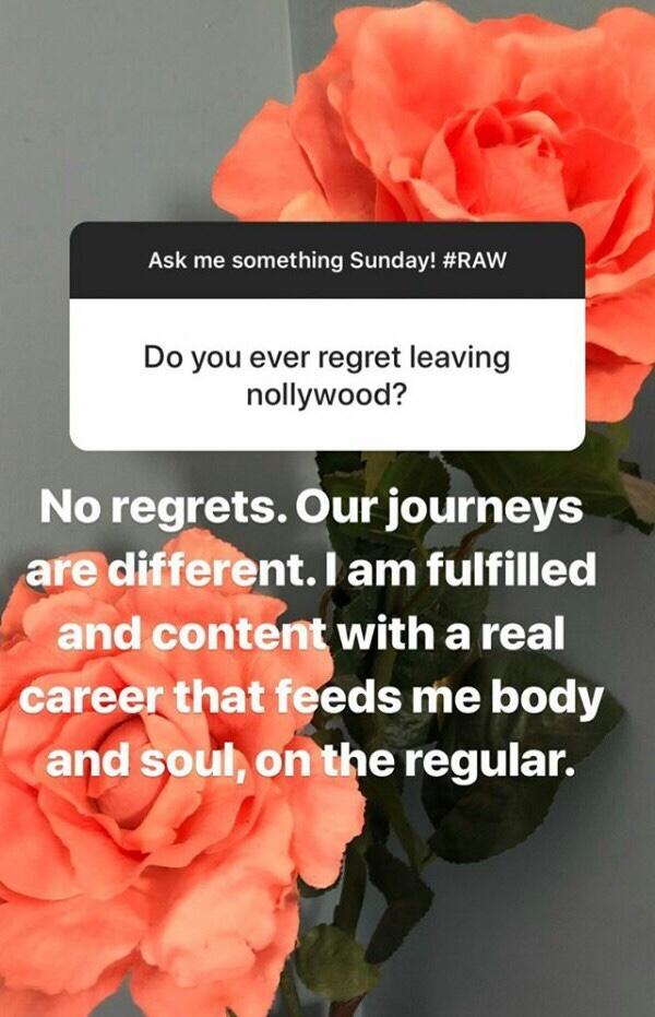 I do not regret leaving Nollywood – Regina Askia