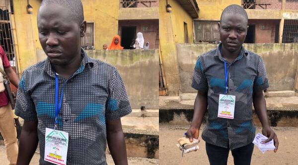Osun Election: Man arrested with N116,000 for vote buying (Photo)
