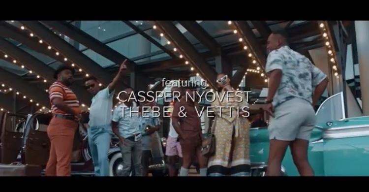 DJ Sumbody – Monate Mpolaye ft. Cassper Nyovest, Thebe & Vettis (Video)