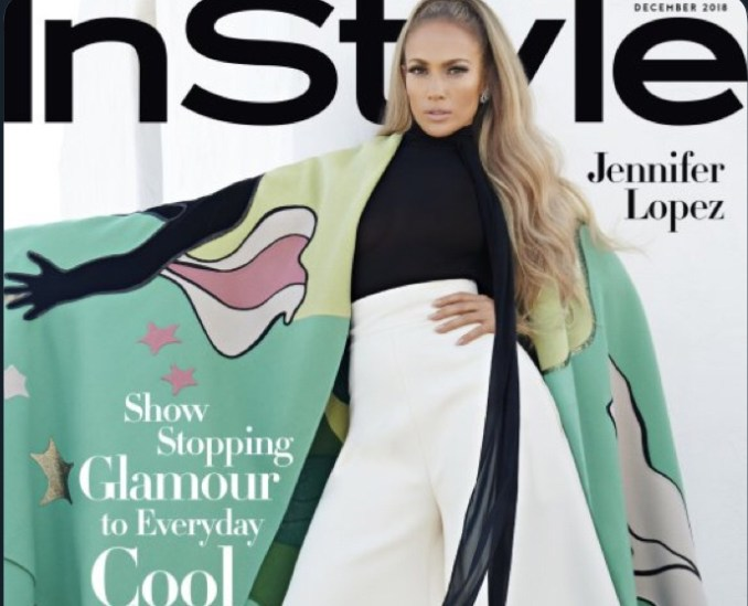 J Lo Covers InStyle Magazine, Talks On Why Dating Alex Rodriguez is Easy
