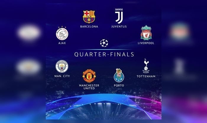 Champions League 2019 Quarter-Final Draw