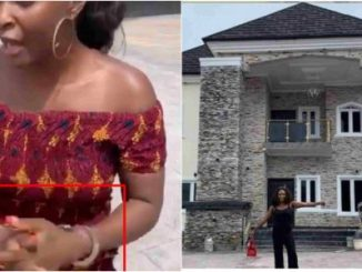 Blessing Okoro arrested by owner of house she claimed