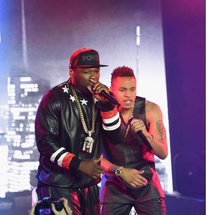 Rotimi Pays 50 Cent $100K To End Beef