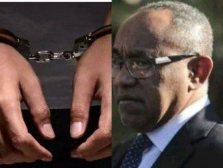 CAF president, Ahmad Ahmad arrested in Paris