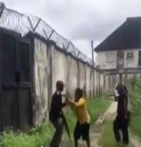 Nigerian Police Force Assault Woman In Delta State Nigeria