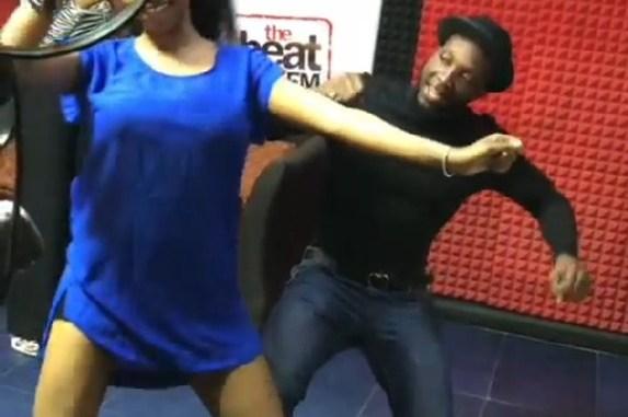 Ex BBnaija contestant Tuoyo Begins Media Tour Rocks Nadine