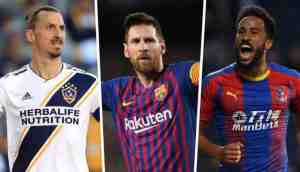 Messi, Ibrahimovic And 8 Other Goals Shortlisted For FIFA Puskas (Best Goal) Award