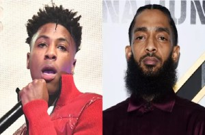 NBA YoungBoy says he cant show LOVE to Nipsey Hussle
