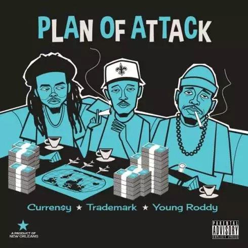 Curren$y, Trademark Da Skydiver & Young Roddy – Plan of Attack [Album Download]