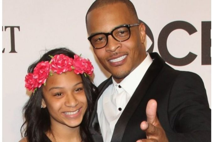 T.I goes with Daughter To Gynaecologist to check if she is still a virgin