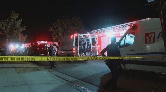 10 shot, four killed at family gathering in Fresno, California