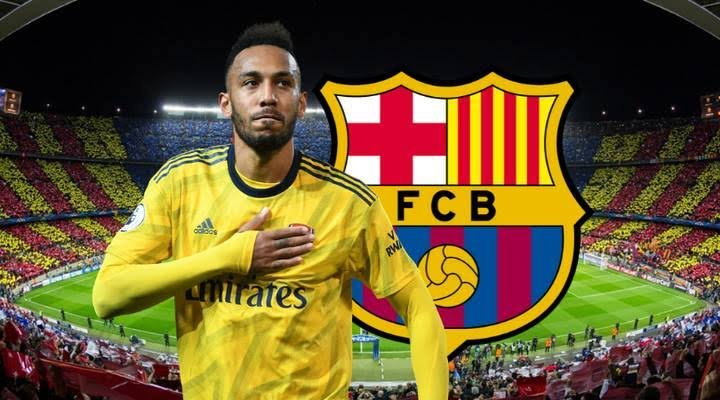 Pierre-Emerick Aubameyang Gives The Nod For Barcelona Transfer Deal Away From Arsenal