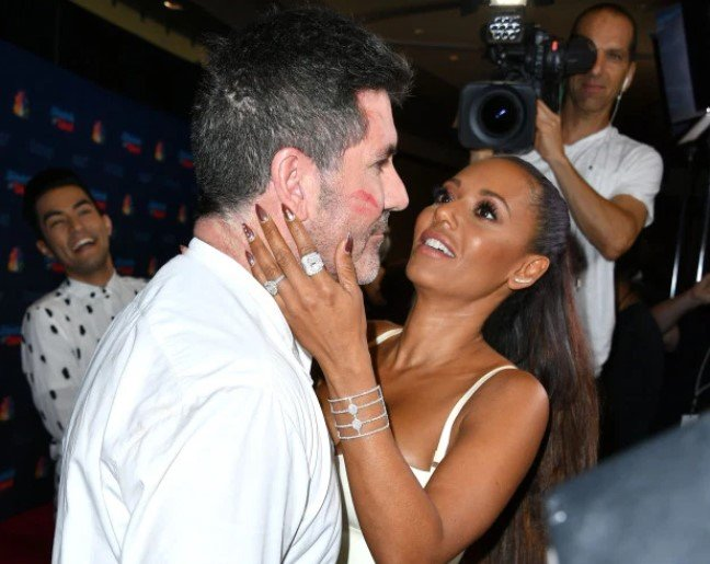 Simon Cowell & Mel B Having an Affair says His Girlfriend