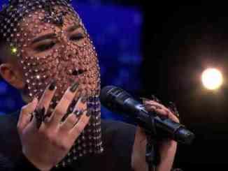 Masked Singer Sheldon Riley Perfroms Billie Eilish Cover on 'AGT'