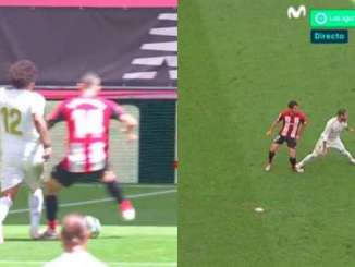VAR Spotted Dani Garcia Stepping On Marcelo, But Not Ramos On Raul Garcia