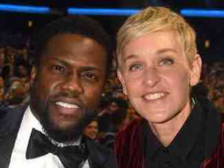 Kevin Hart Defends Support Of Ellen DeGeneres & Nick Cannon
