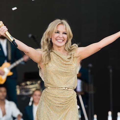 Kylie Minogue Is A Keen Gardener