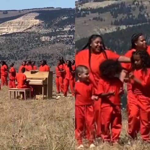 Kanye West's Sunday Service Returns With 'Covid-Safe' Wyoming Mountains Gathering