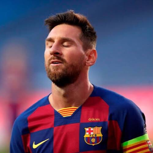 Lionel Messi Angry After Champions League Defeat To Bayern Munich
