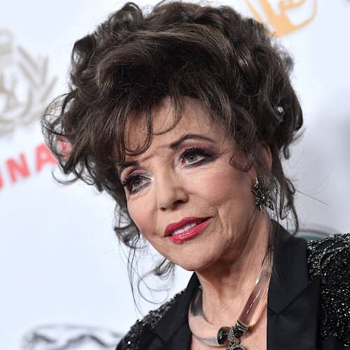 Joan Collins Scolded By French Police For Not Wearing A Face Mask