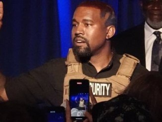 Kanye West pees on Grammy award, Tweets his entire Record Contract