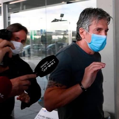 Messi's father Jorge breaks silence as he lands in Barcelona for showdown talks