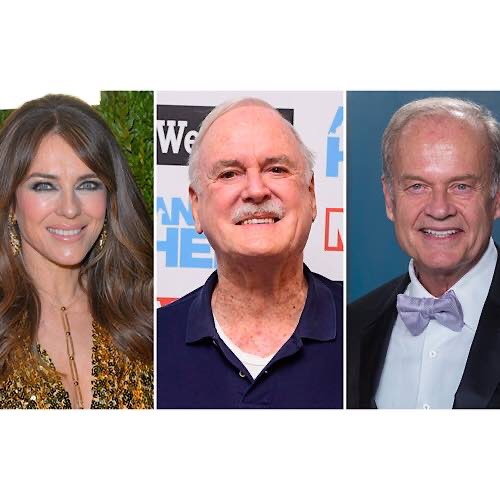 John Cleese, Elizabeth Hurley And Kelsey Grammar Are To Star In 'Father Christmas Is Back'